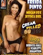 Freida Pinto Topless Magazine Cover 001