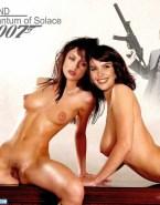 Gemma Arterton James Bond Lesbian Porn Fake 001