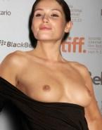 Gemma Arterton Titty Flash Public Fake 001