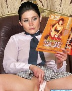 Gemma Arterton Upskirt Pussy Touching Herself Fake 001