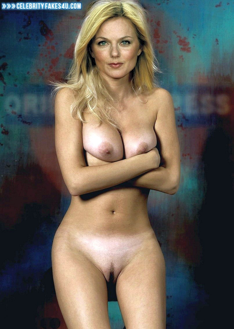 Geri Halliwell Nude Pics geri halliwell nude body squeezing tits fake 001 « celebrity