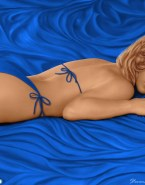 Gillian Anderson Bikini Ass Porn 001