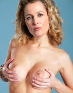 Gillian Anderson Boobs Squeezed Fakes 001