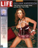 Gillian Anderson Nip Torture Magazine Cover Naked 001