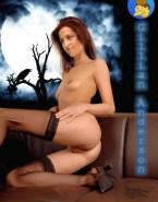 Gillian Anderson Porn Nsfw 001