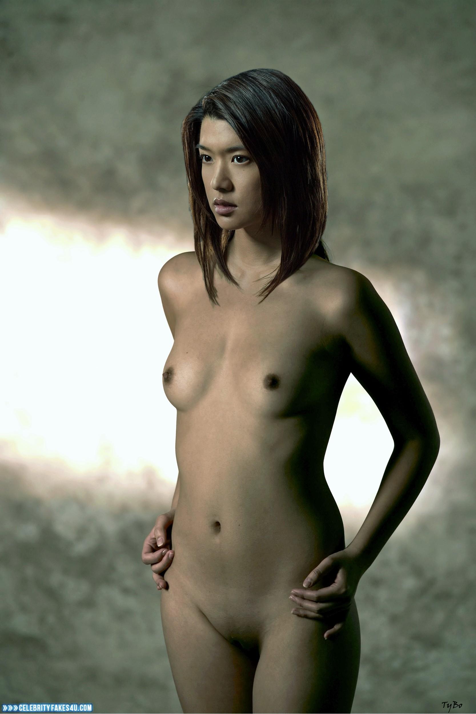 Grace Park Naked Body Small Boobs 001  Celebrityfakes4Ucom-7824