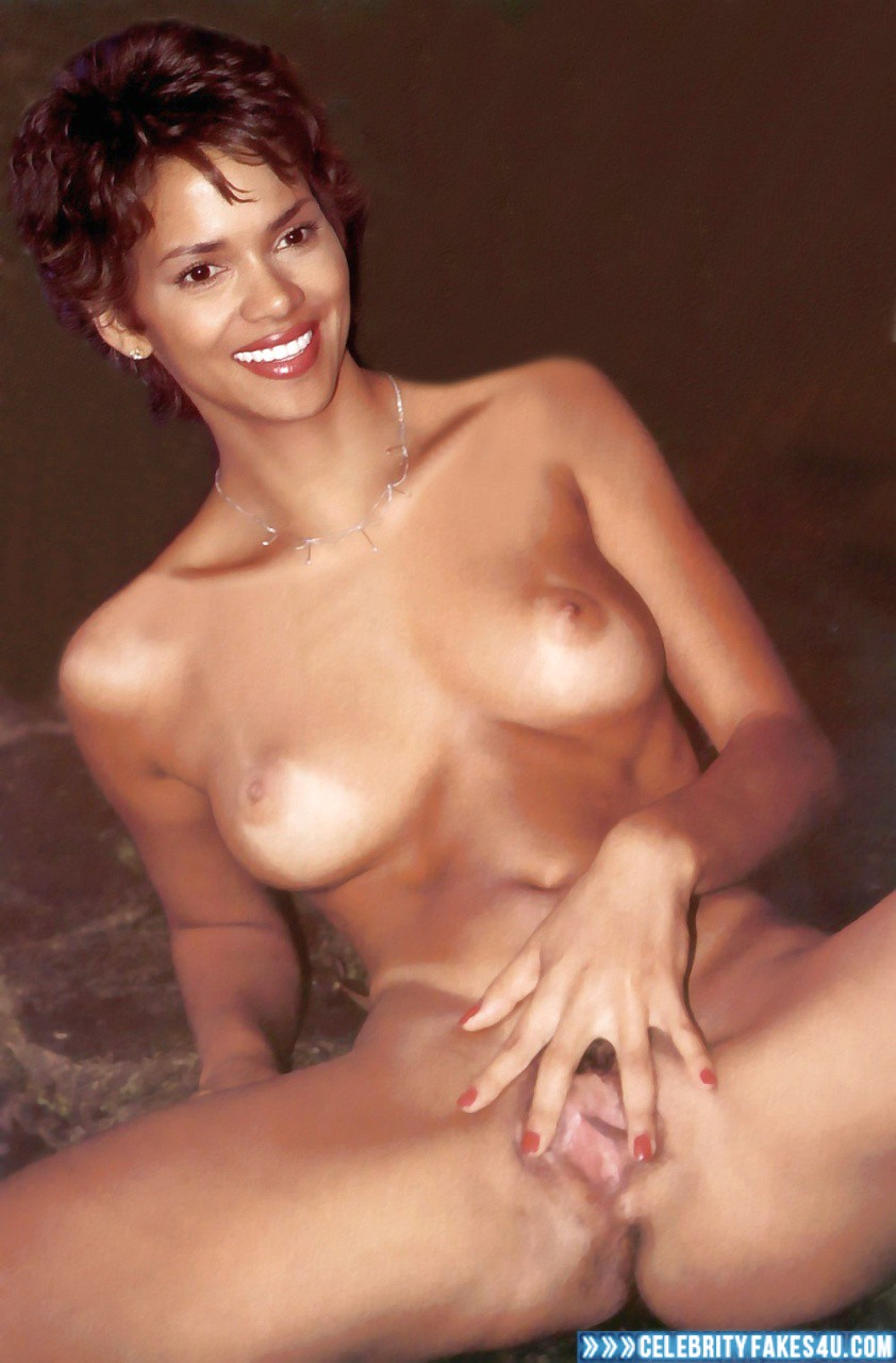 Celeb Halle Berry Nude Pictures Images