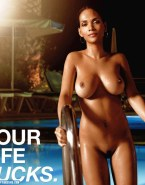 Halle Berry Wet Nice Tits Nudes 001