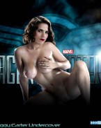 Hayley Atwell Captain America Undressing 001