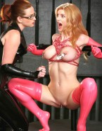 Heather Graham Nip Torture Latex Nude 001
