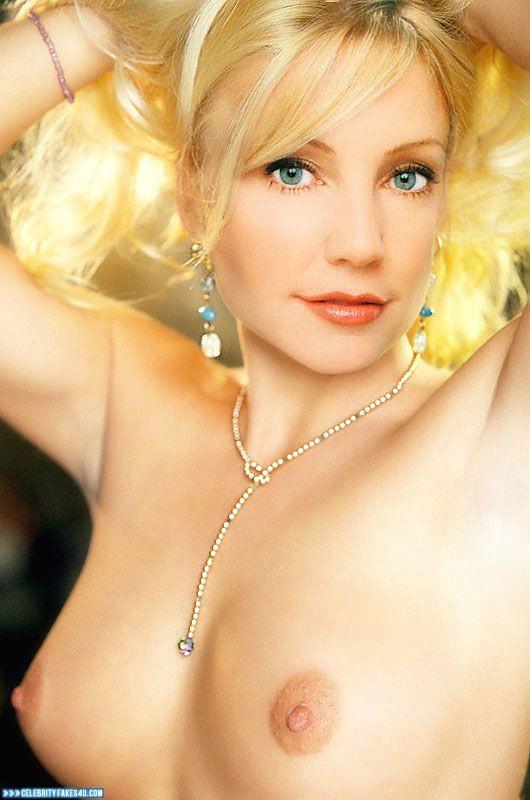 Heather Locklear Fake, Blonde, Nude, Tits, Porn