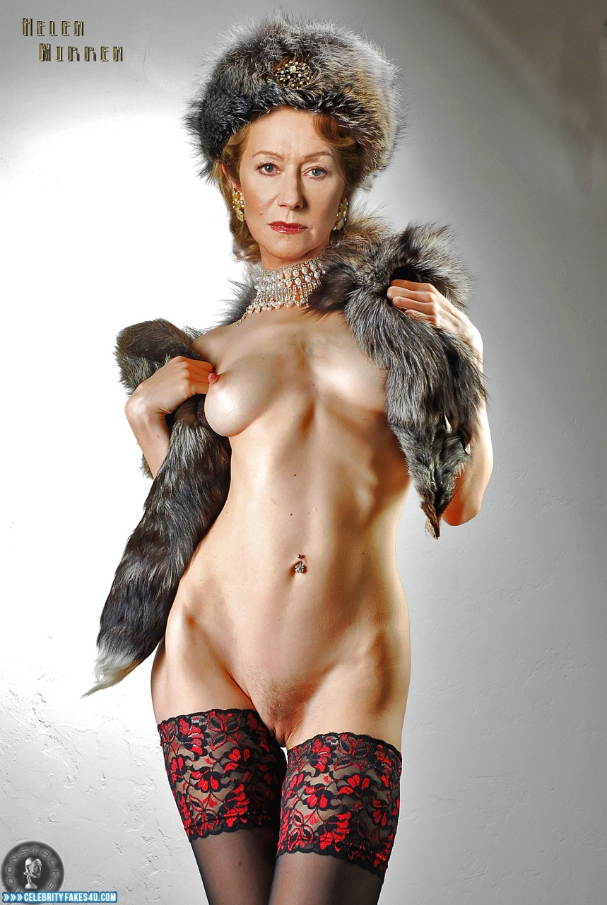 Helen Mirren Fake, Hot Athletic Body, Tits, Porn