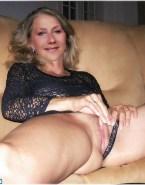 Helen Mirren Masturbating Panties Aside Exposing Pussy Porn 001