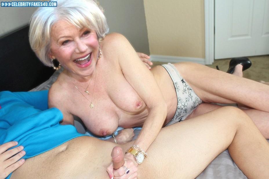 Helen Mirren Fake, Handjob, Topless, Porn