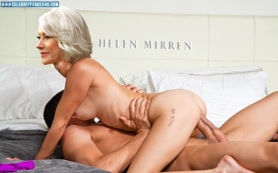 Helen Mirren Fake, Riding Sex, Tight Pussy, Porn