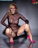 Helene Fischer Lingerie See Thru Nude 001