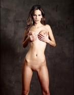 Hilary Swank Naked Body Boobs Squeezed 001