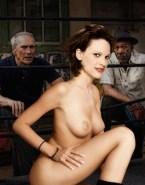 Hilary Swank Nude Tits 001
