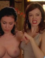 Holly Marie Combs Boobs Charmed Naked Fake 001