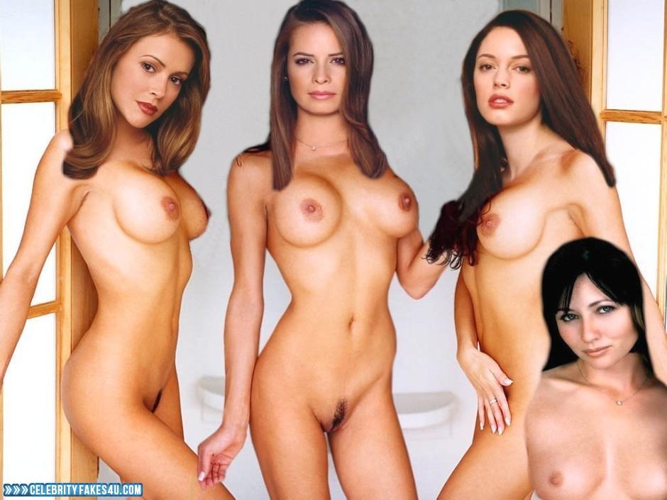 Halliwell sisters nude fakes