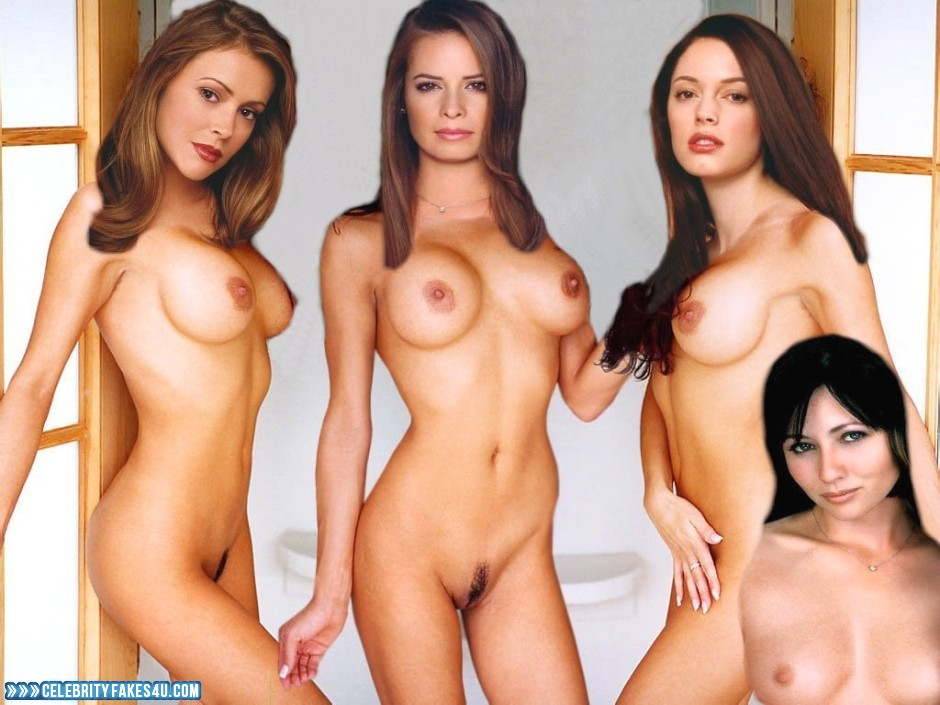 Holly Marie Combs Charmed Naked Body Fake 001  Celebrity -4870
