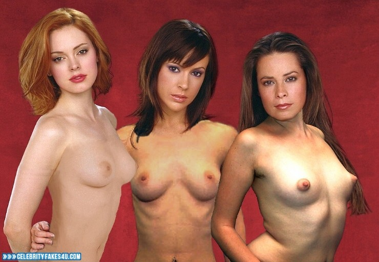 Paige from charmed girls naked