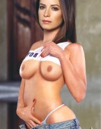 Holly Marie Combs Tits Fake 004