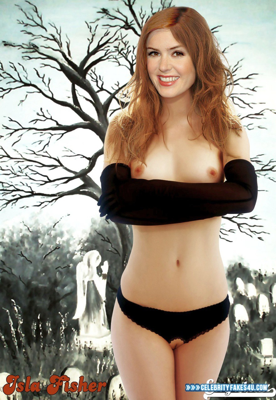 Isla Fisher Nude Photos isla fisher panties lingerie nude fake 001 « celebrity fakes 4u