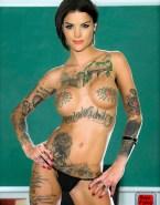 Jaimie Alexander G String Nude Body 001