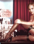 Jennie Garth Vagina Lingerie Fake 001