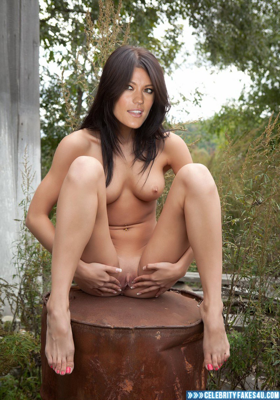 russian girl naked in woods