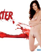 Jennifer Carpenter Squeezing Tits Dexter Xxx 001