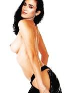 Jennifer Connelly Undressing Sideboob Porn 001