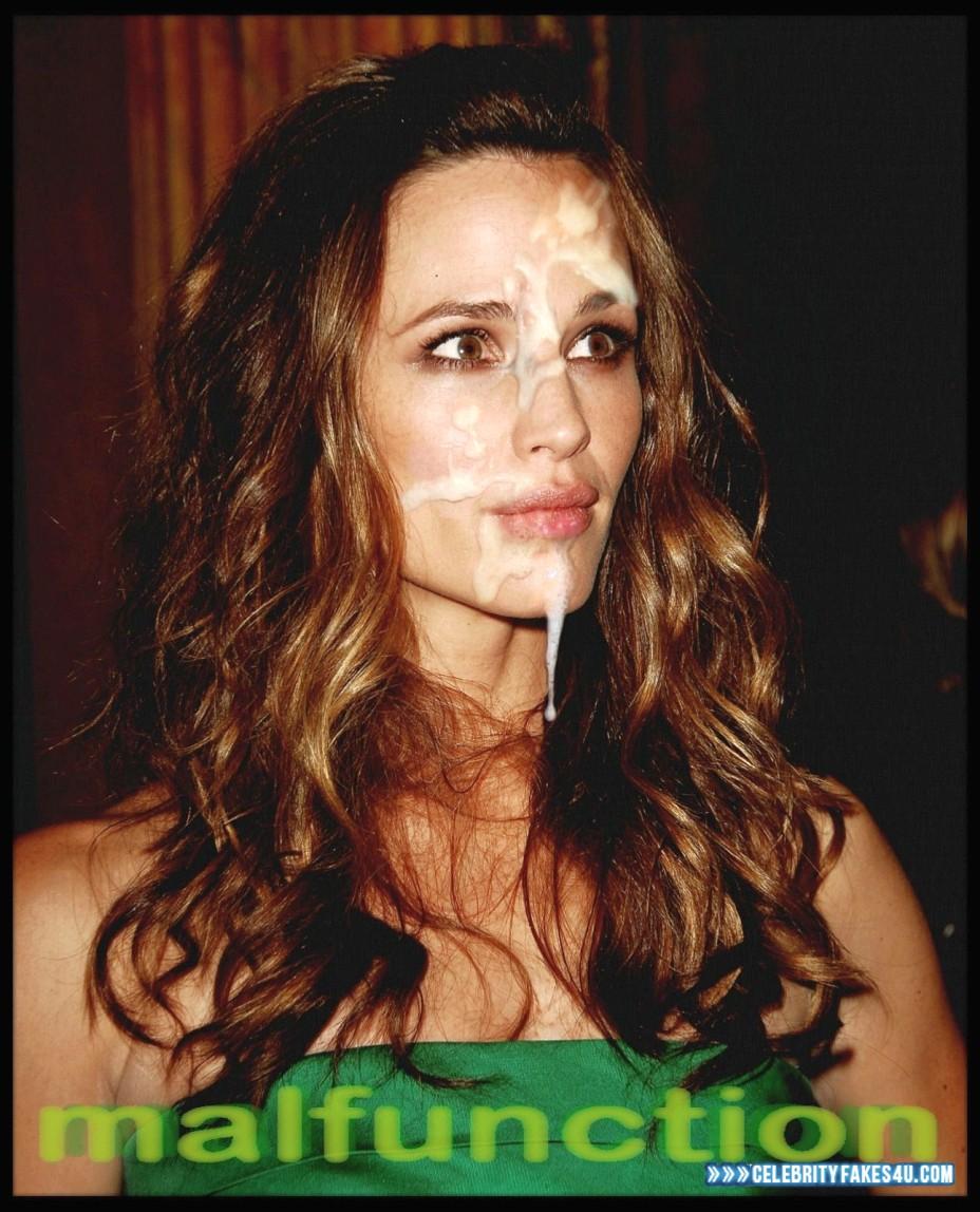 Jennifer Garner Celebrity Porn - Jennifer Garner Facial Cumshot Nude 001 Â« Celebrity Fakes 4U