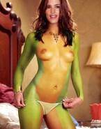 Jennifer Garner G String Nude Body 001