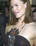 Jennifer Garner Nipples Red Carpet Nude 001