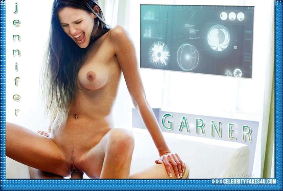 Jennifer Garner Fake, Riding Sex, Tight Pussy, Porn