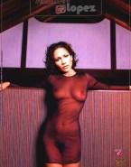 Jennifer Lopez Hairy Pussy See Thru Naked 001