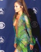 Jennifer Lopez Red Carpet Event See Thru Naked 001