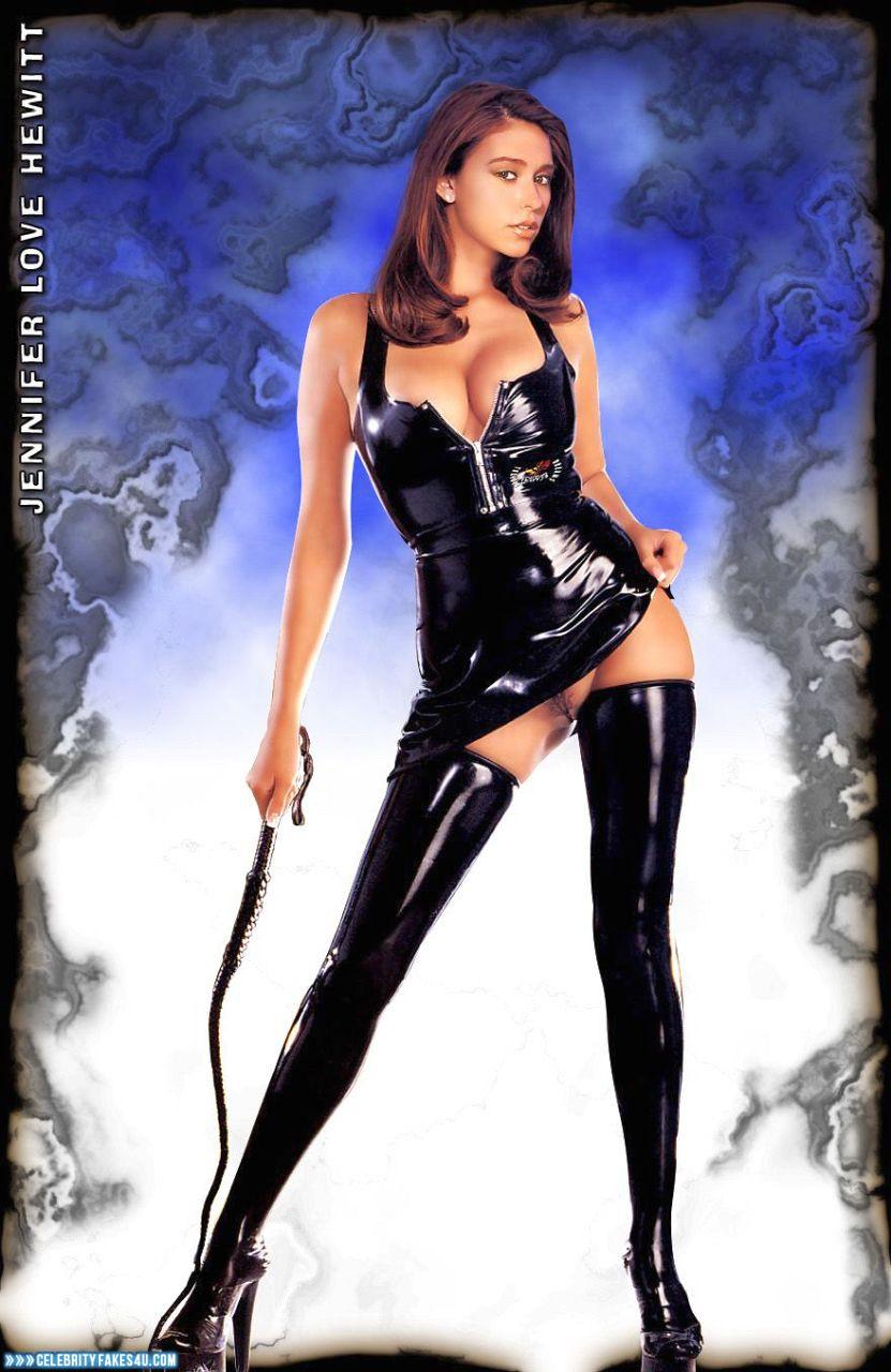 Jennifer Love Hewitt Latex Dominant Mistress Porn 001