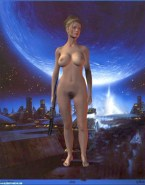 Jeri Ryan Cartoon Nude Body 002