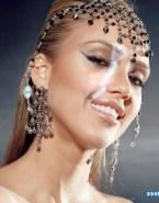 Jessica Alba Horny Cum Facial Fake 001