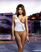 Jessica Biel Boobs Public Fake 001