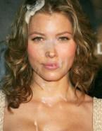 Jessica Biel Cumshot Facial Xxx Fake 001