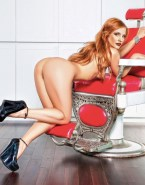 Jessica Chastain Ass Redhead Fake 001