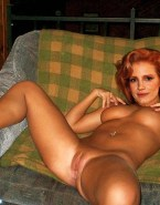 Jessica Chastain Pinching Nipples Legs Spread Nudes Fake 001