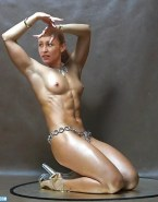 Jessica Ennis Completely Naked Breasts 001
