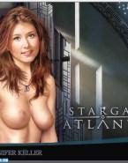 Jewel Staite Breasts Stargate Atlantis Naked Fake 001