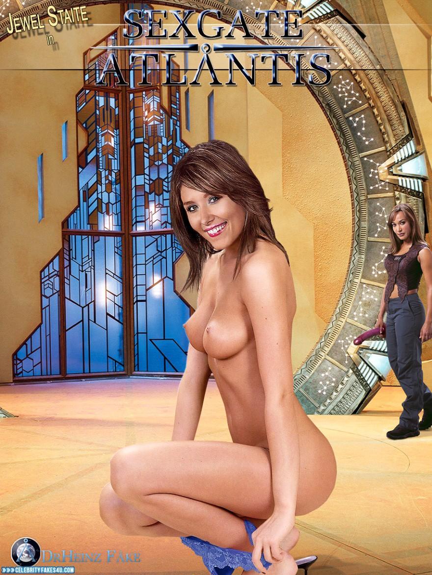 Nude fakes atlantis stargate