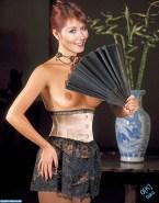 Jewel Staite Lingerie Panties Naked Fake 001